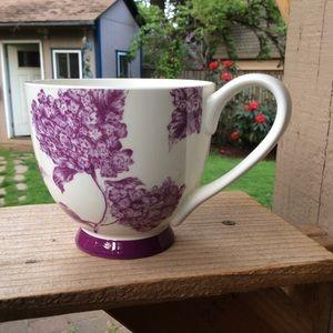 Portobello by Inspire mug purple floral elegant
